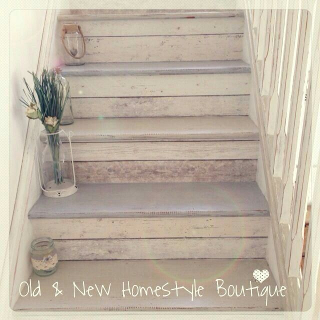 Painted Basement Stairs Ideas: Stair Makeover, Wallpaper Stairs