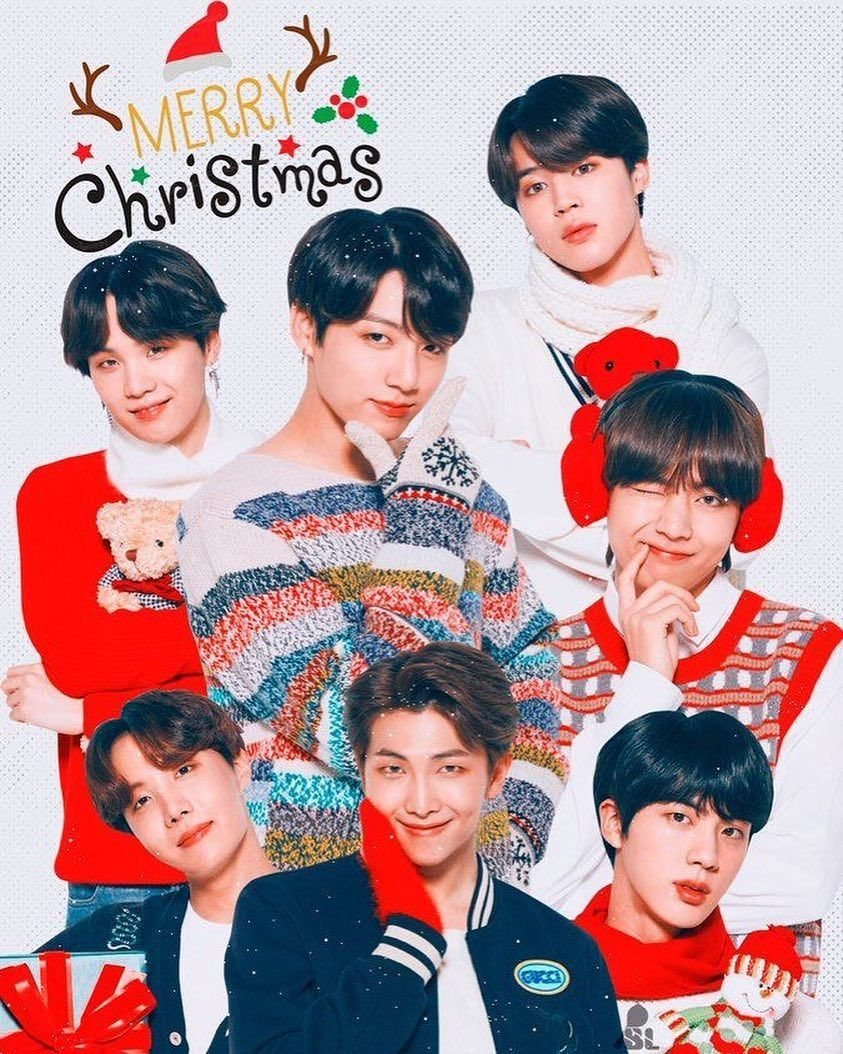 BTS will get Christmas with Santa Claus