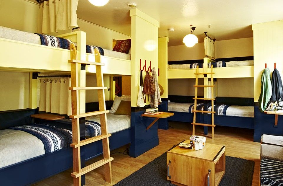 Slideshow 7 small spaces for the adventurous traveler dwell embracing the look of a hostel - Dwell small spaces image ...