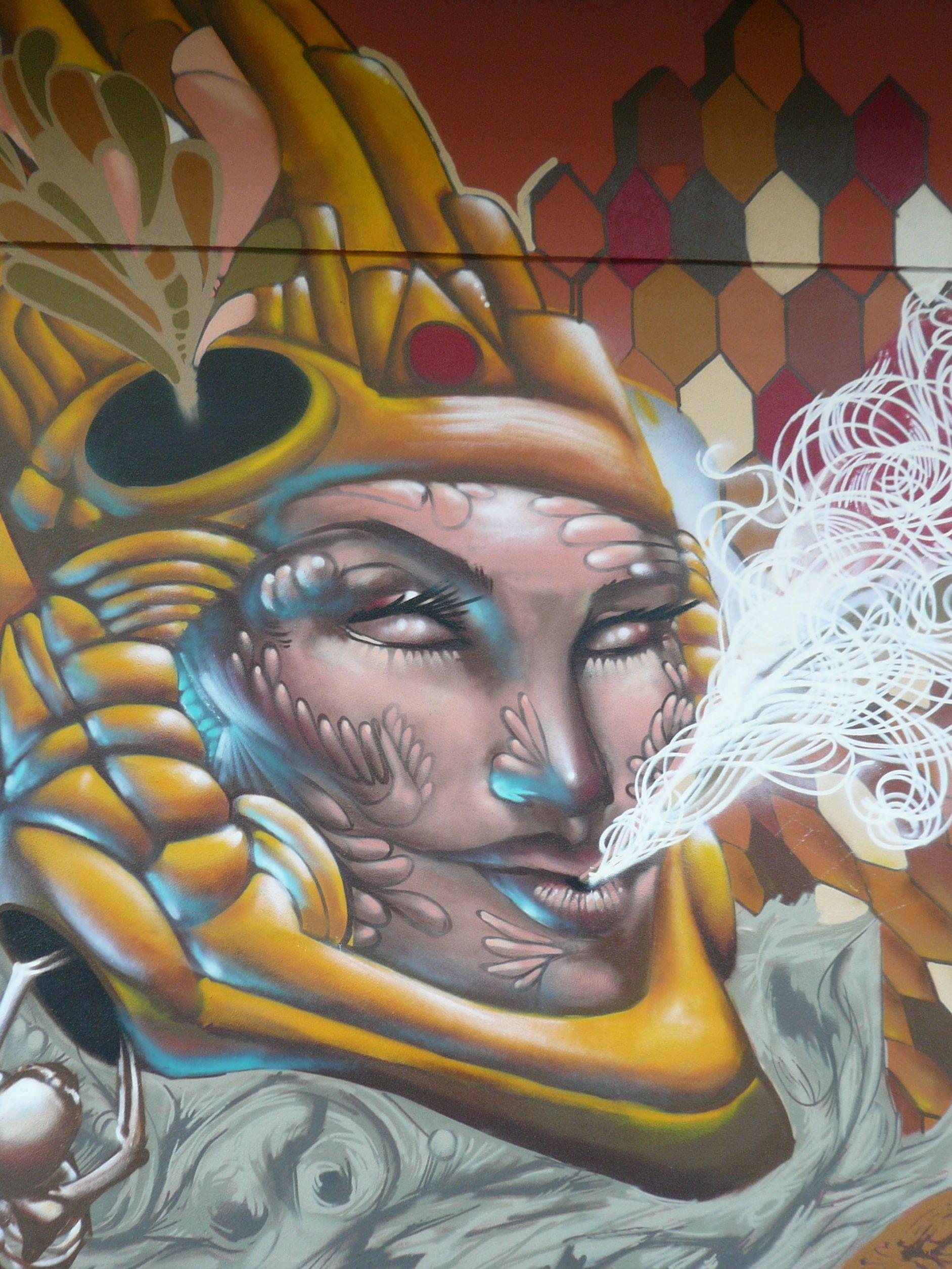 Graffiti wall art, Berlin