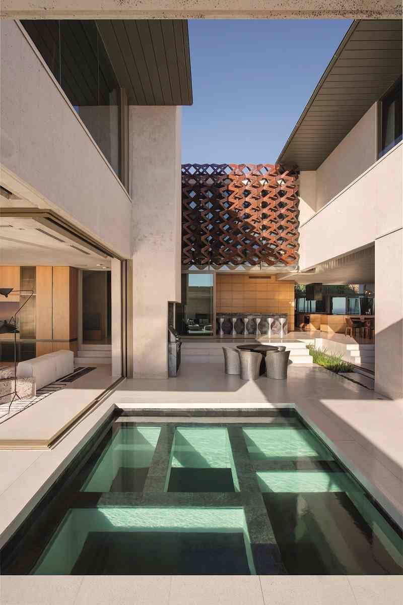 villa architecte terrasse