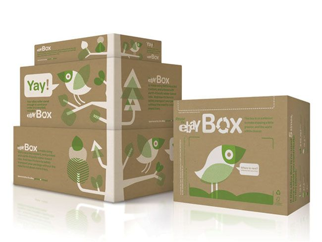 The Ebay Box Creative Package Design Package Design And