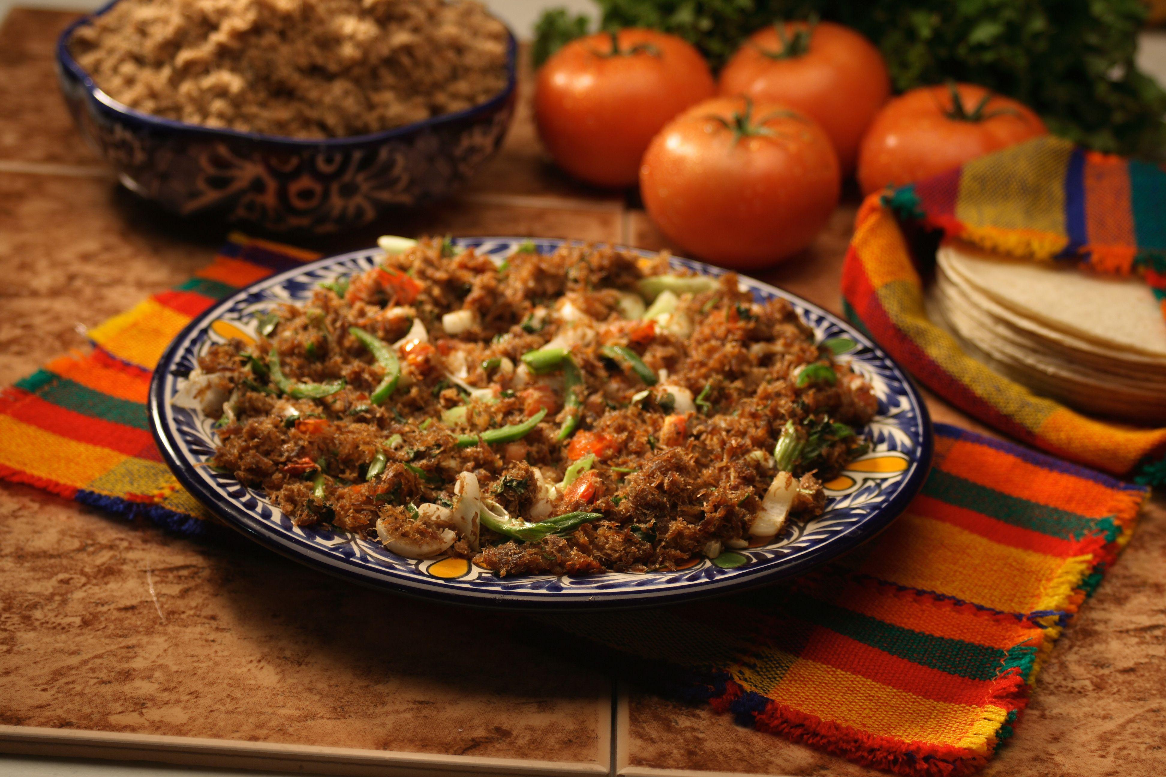 Carne Machaca Productos Chata | Platillos Chata | Pinterest