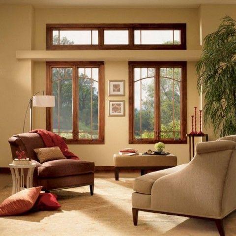 ventanas con marco de madera