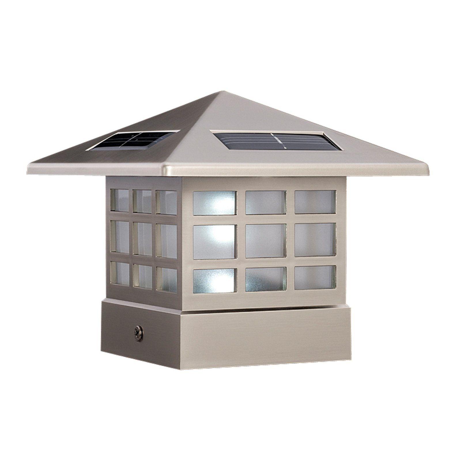 Inspirational solar Porch Post Lights
