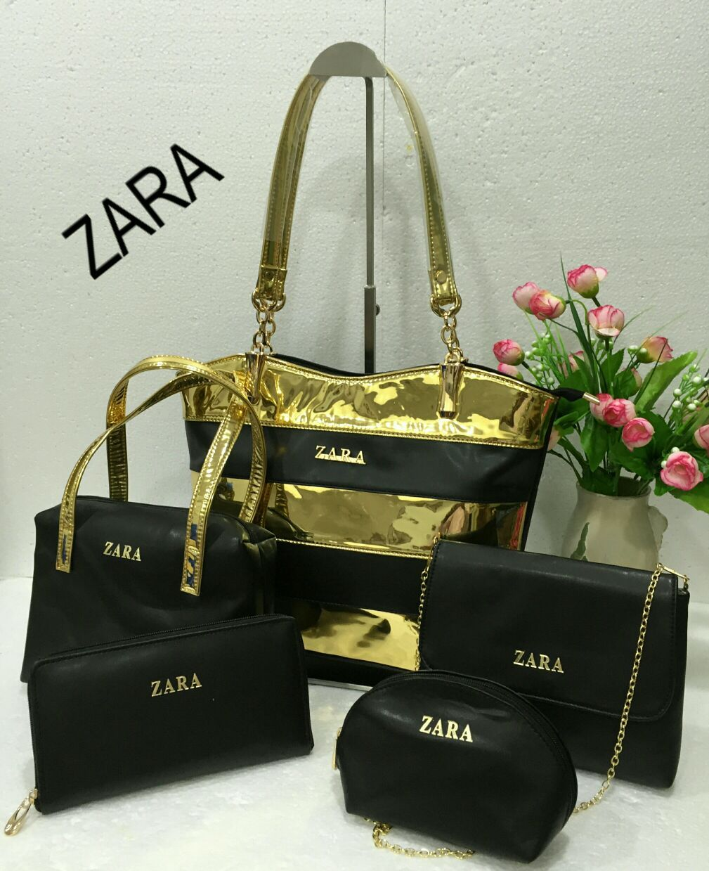 Zara Bags, 5 set combo, 8 colours | Branded Products For Sale Call ...