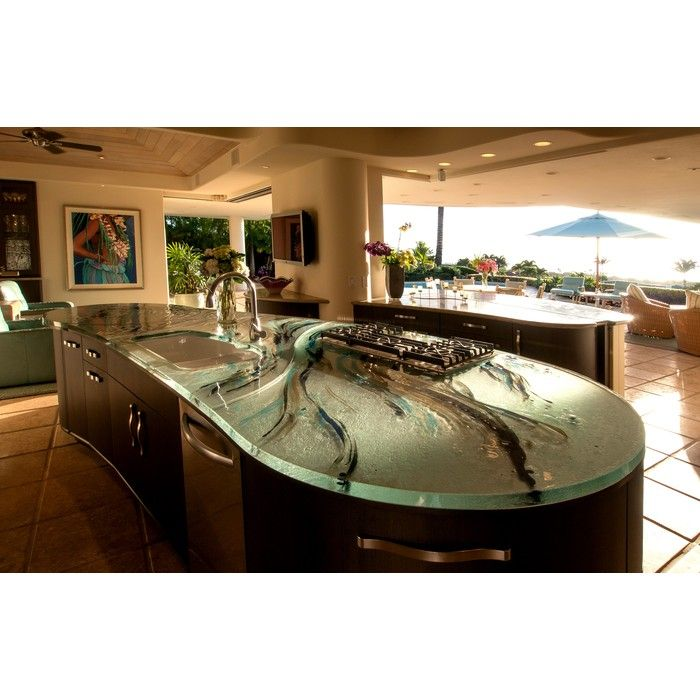 Artistic Glass Countertop By THINKGLASS INC