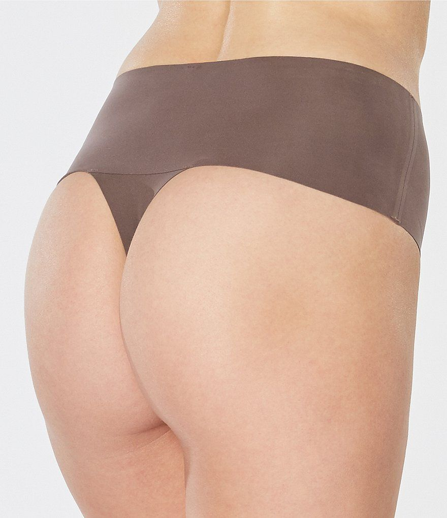 Spanx Sp0115 Undie-tectable Thong XL Very Black for sale