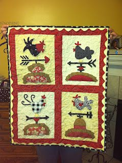 Weather Vein Quilt... link to free pattern! So cute... I have to make it!busyascanbe.com