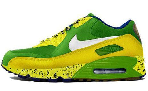 discount nike air max green and yellow e9785 0878e