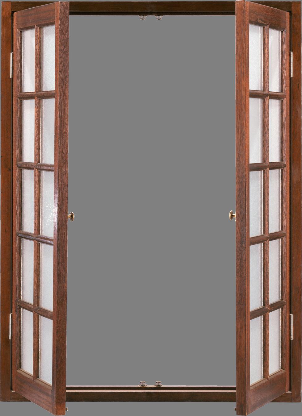Window Png Image French Doors Windows Open Window