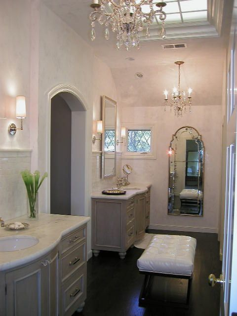Venetian Plaster Bathroom Remodel