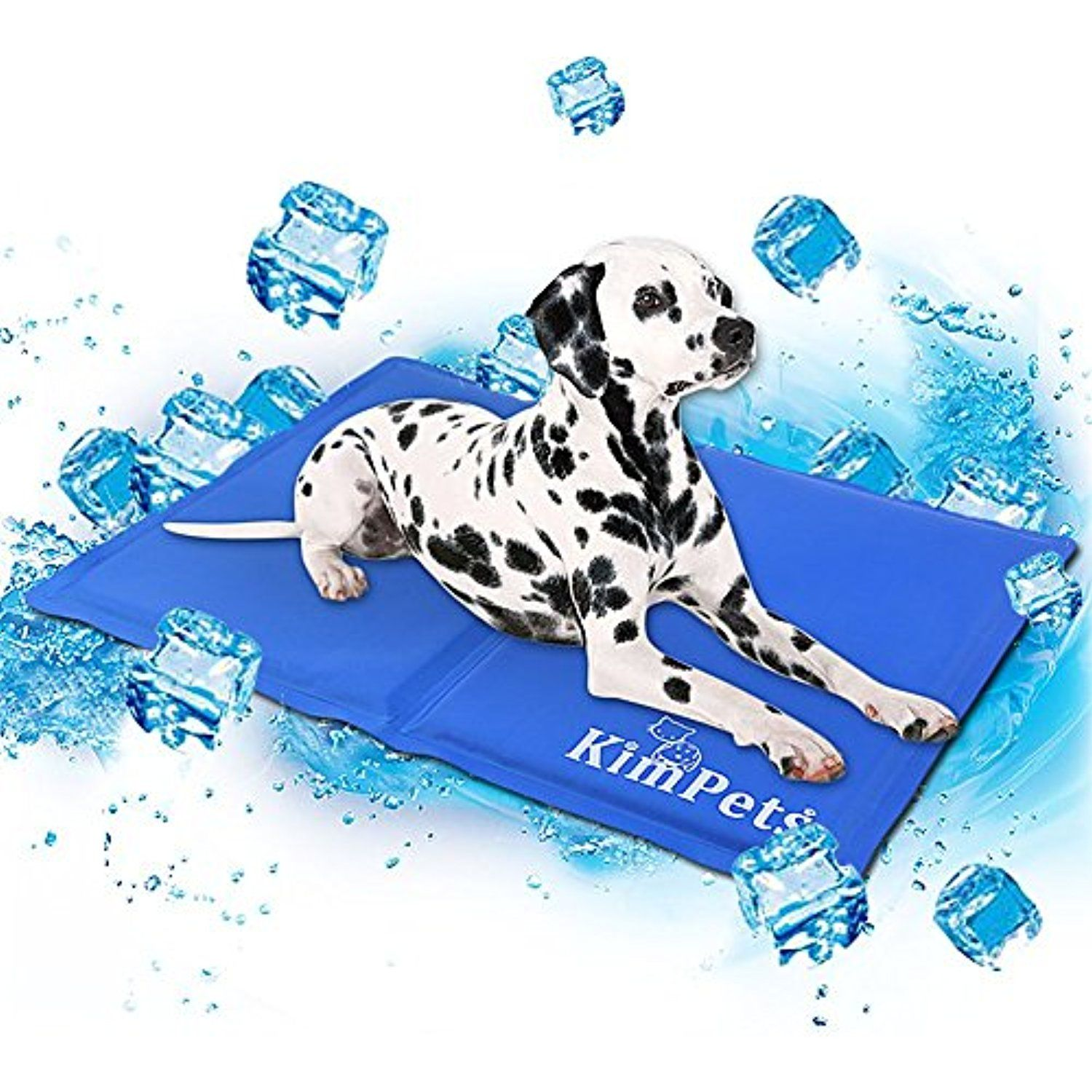 Pet Dog Cooling Mat Gel Pad Waterproof Comfort Bed For Small