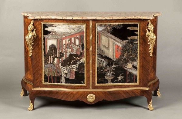 An Antique Chinoiserie Commode. FRANCE .1890.