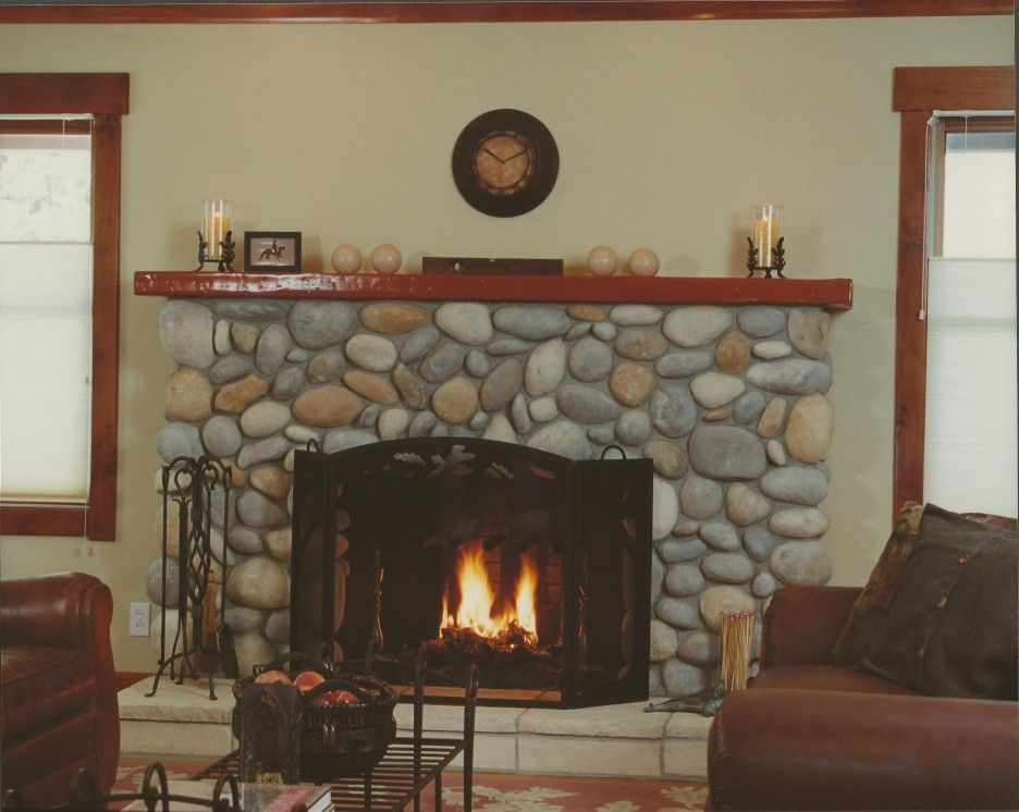 rock fireplace mantel. Fantastic Fireplace Mantel Kit With Hardrock Material And Wooden Top Faced  Cozy Leather Sofas Interior