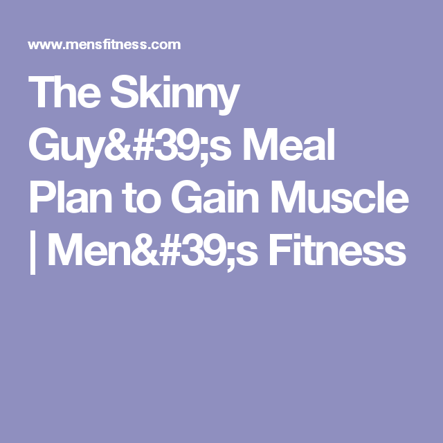 workout guide for skinny guys