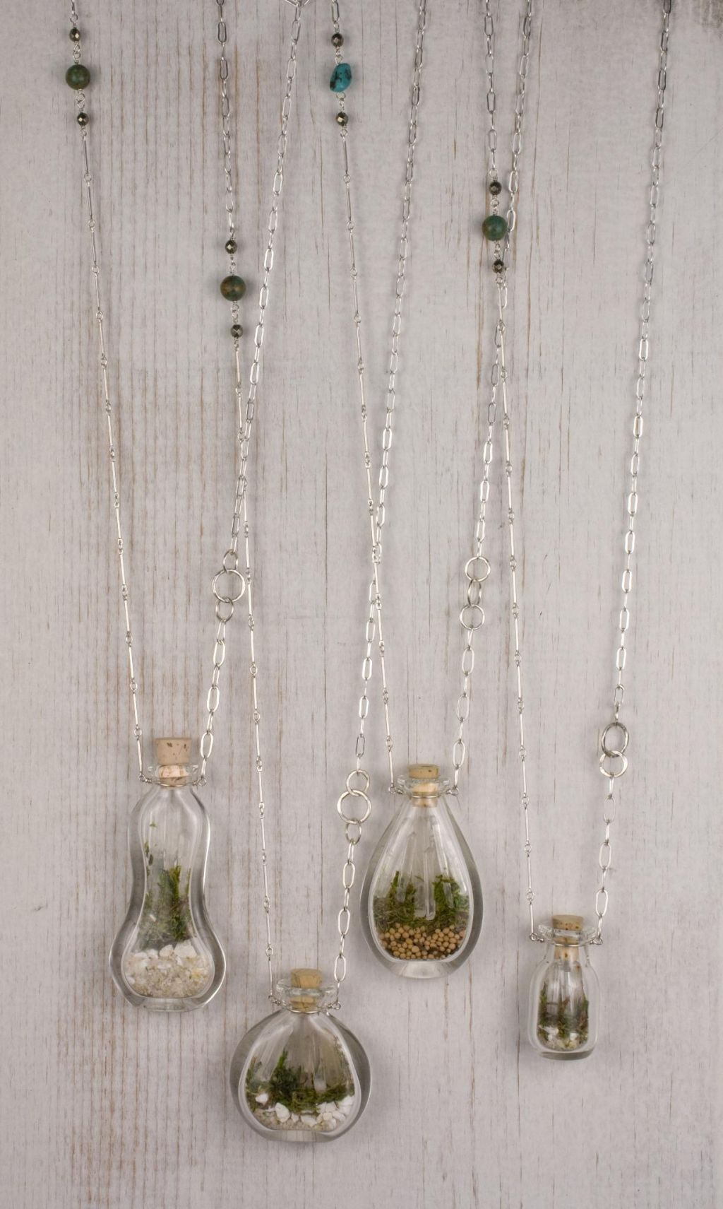 Terrarium necklaces by #SCAD alum Sarah Lewis, @shopSCAD $150 | WiSh ...