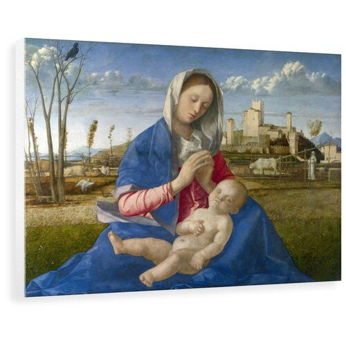 Astoria Grand Wandbild Madonna of the Meadow von Giovanni Bellini | Wayfair.de #renaissanceart