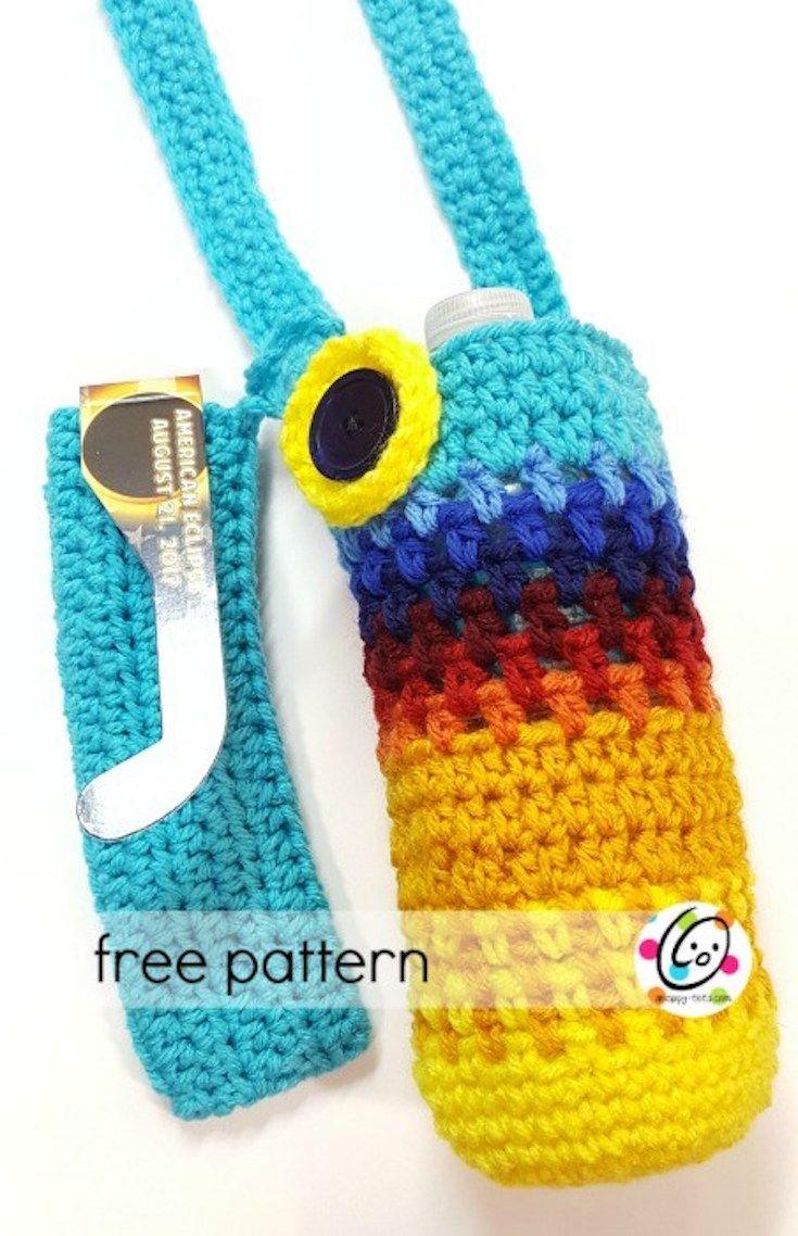 Crochet pattern eclipse water bottle holder crochet pinterest crochet pattern eclipse water bottle holder bankloansurffo Choice Image