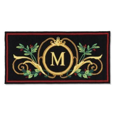 Festive Monogrammed Door Mat 30x48 70 Amanda S