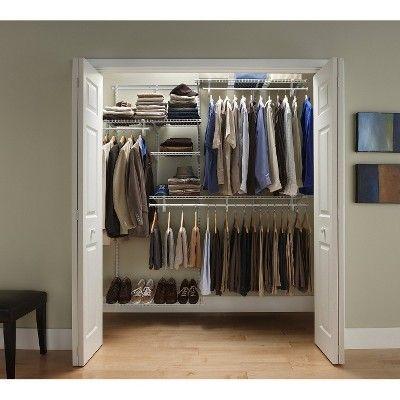 ClosetMaid ShelfTrack Closet Organizer Kit With ... : Target Mobile | Rangement, Placard