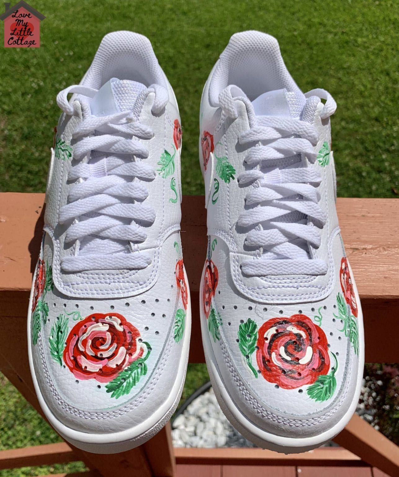 Customized Rose Sneakers lovemycottage in 2020