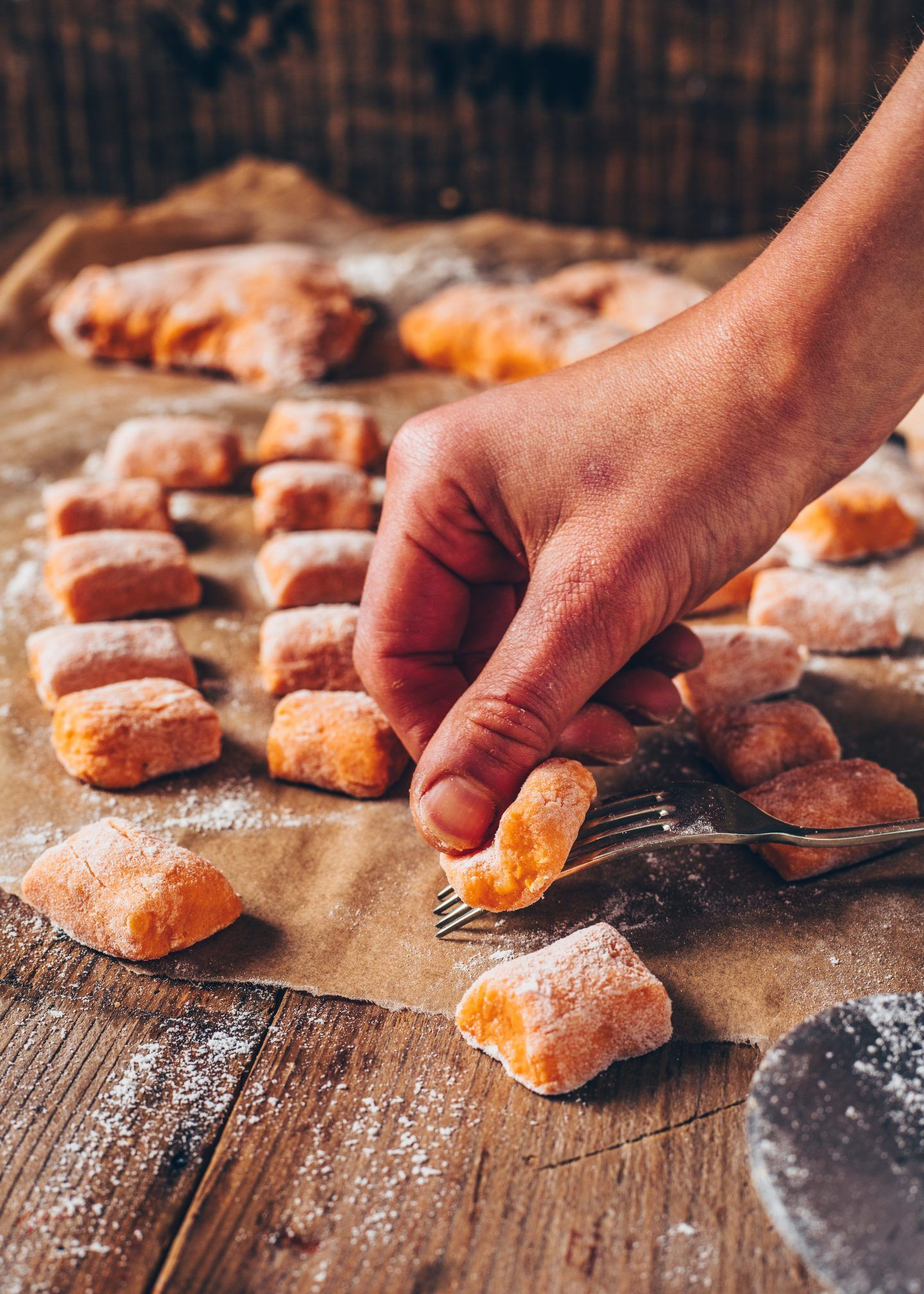 Süßkartoffel-Gnocchi (vegan, einfach) - Bianca Zapatka | Rezepte