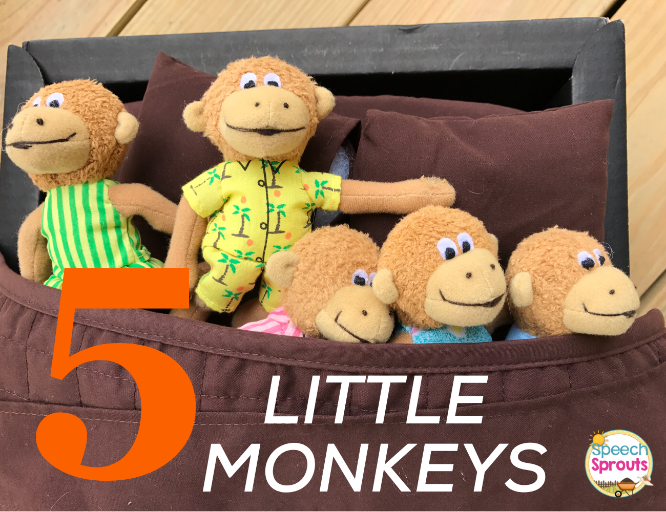 BestEver Books for Preschool Speech Therapy Five Little