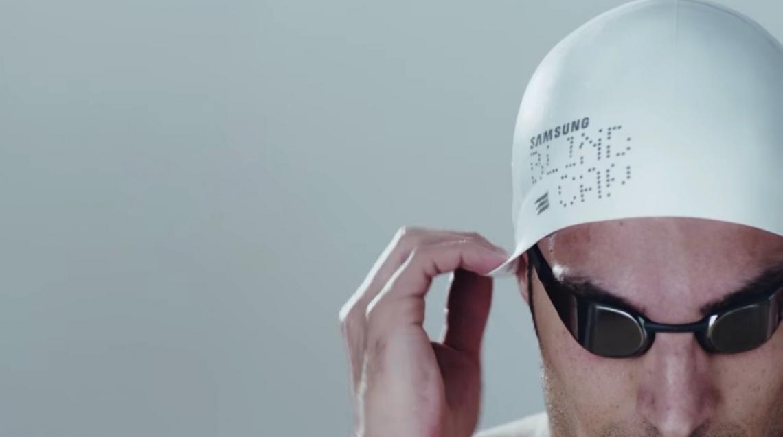 Blind Cap – Samsung développe un bonnet de natation pour les aveugles