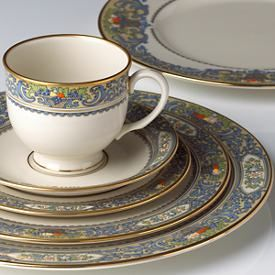 Autumn® Dinnerware Place Setting by Lenox--my all time most favorite dishes! & Autumn by Lenox--love the enamel dots that are hand applied to the ...