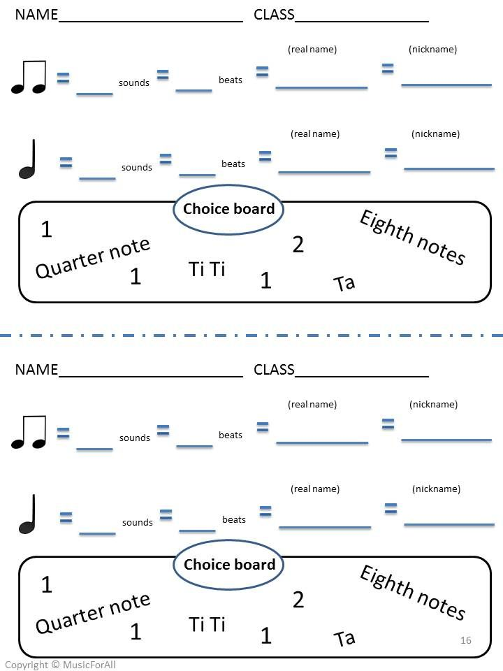 Elementary Music Assessment Pack: Grade 1-2 {sol mi la} {ta & ti-ti ...
