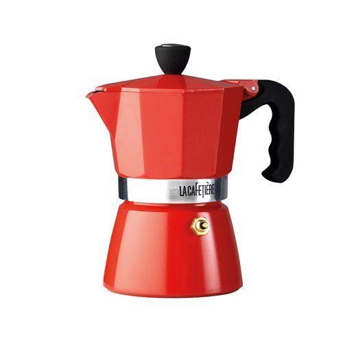 La Cafetière Classic Espresso Maker La Cafetière Colour: Red, Size: 0.3 L #espressomaker