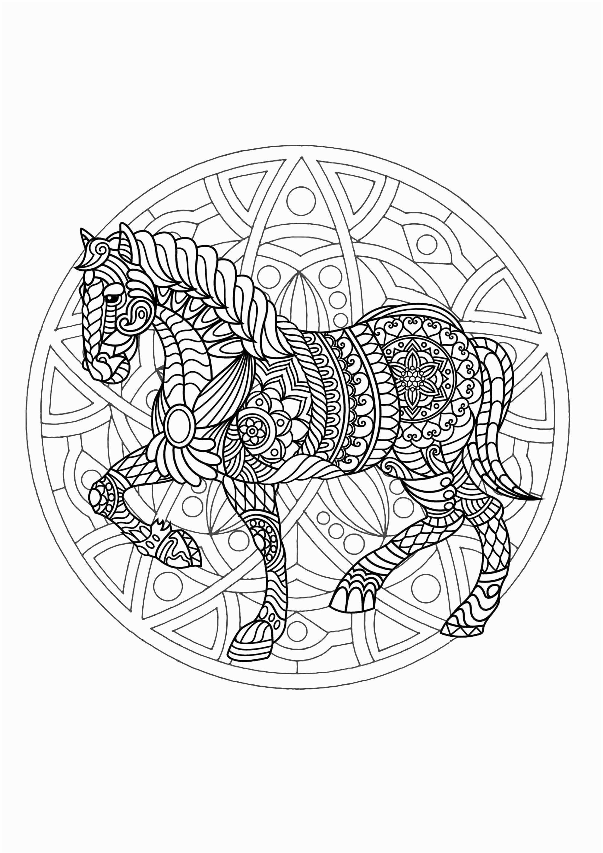 Coloriage Renard Gefroren Coloriage Mandala Cheval Awesome