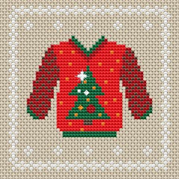 Set of 9 Holiday decor Cross stitch PDF pattern, Christmas Decoration Cross stitch pattern, Christma