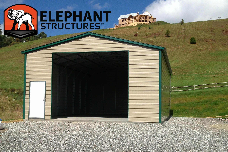 Enclosed Carport An Easy Solution Enclosed carport
