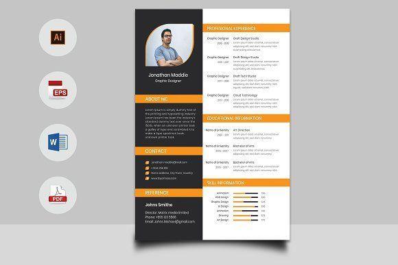 resume templates design cv cover letter design creativework247