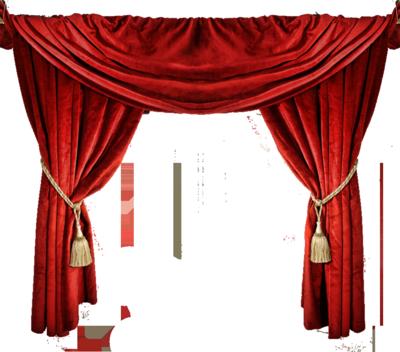 Red Curtain Photo Tekalbolen Photobucket Throughout Curtains Intended For Household