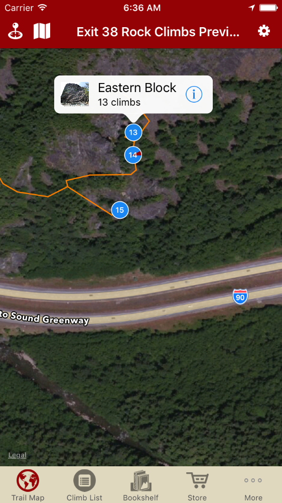 We just updated Exit 38 with Headlight Point & Eastern Block