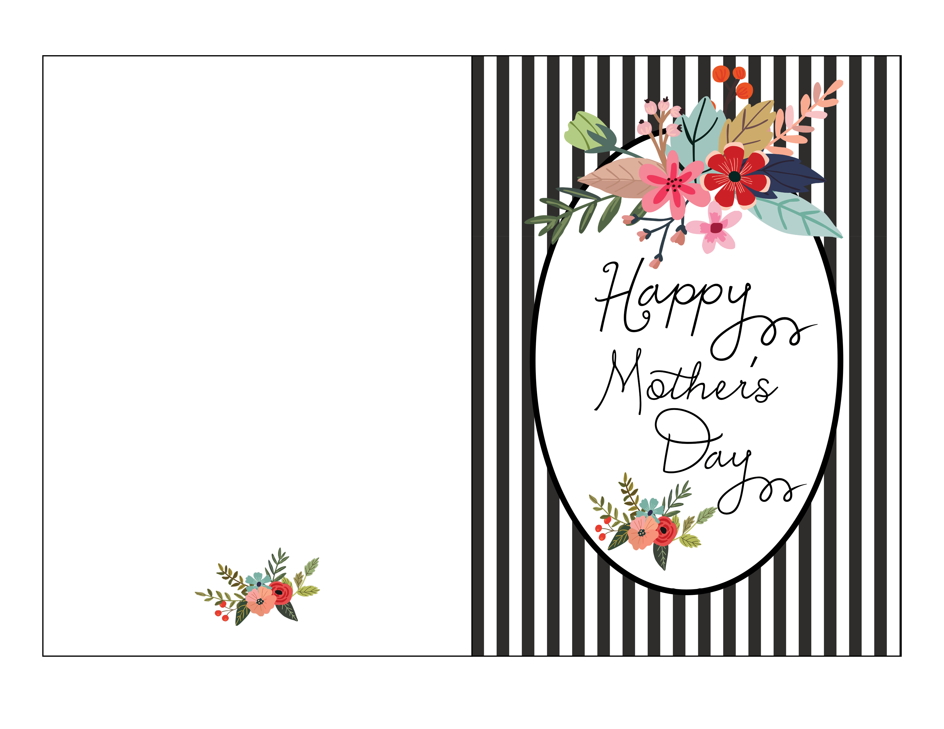 Free Mother S Day Card Printable Fab Fatale Mothers Day Card Template Mothers Day Cards Printable Mothers Day Cards