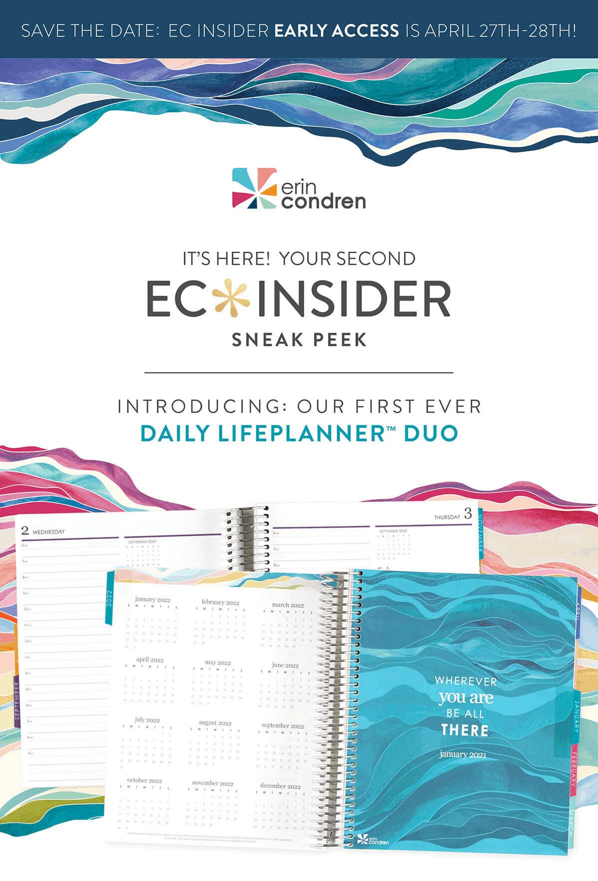 Erin Condren Daily Lifeplanner Duo Coming Soon Coupon Hello Subscription Erin Condren Life Planner Erin Condren Life Planner