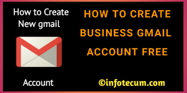 How To Create New Gmail Account In 2021 Accounting Business Email Address Business Emails