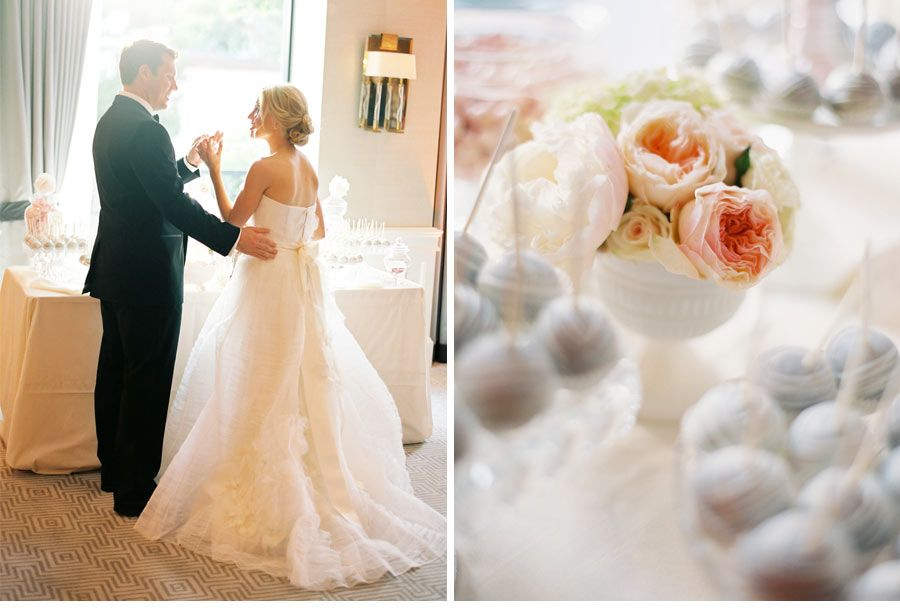 CeciStyle V102: Totally Tulle! Our Muse - Soft Romantic Wedding - Be inspired by Melissa & Jared's soft, romantic wedding - wedding