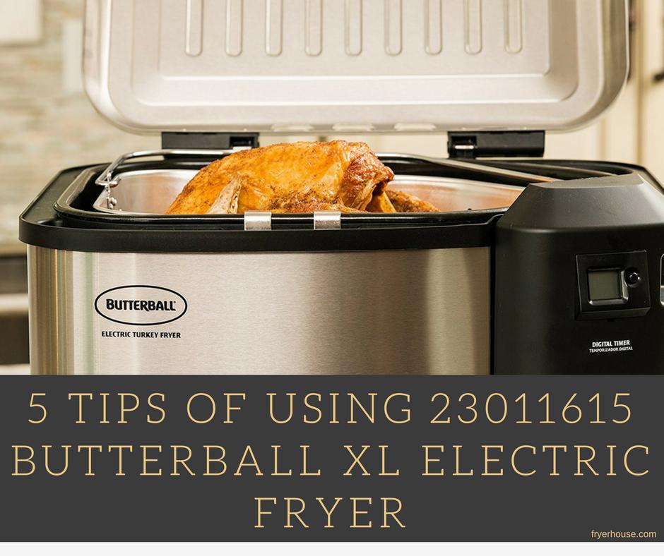23011615 Butterball Xl Electric Fryer Review 2020 Butterballs