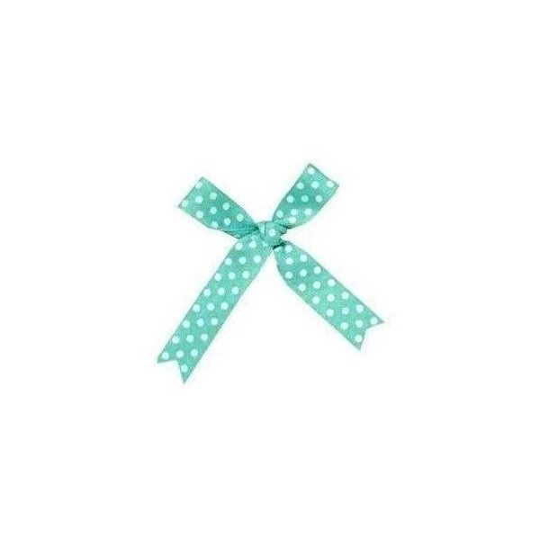 blue bow-edited by pinkluver♥ ❤ liked on Polyvore