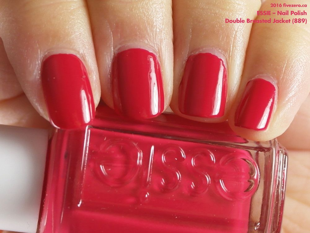 Essie Nail Polish in Double Breasted Jacket (swatch by fivezero.ca ...