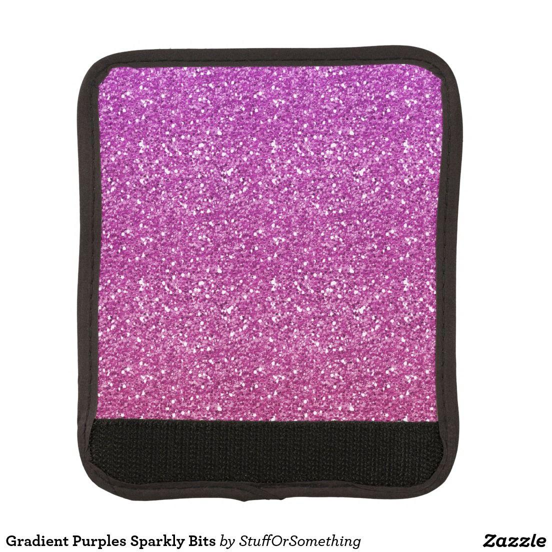 Gradient Purples Sparkly Bits Handle Wrap