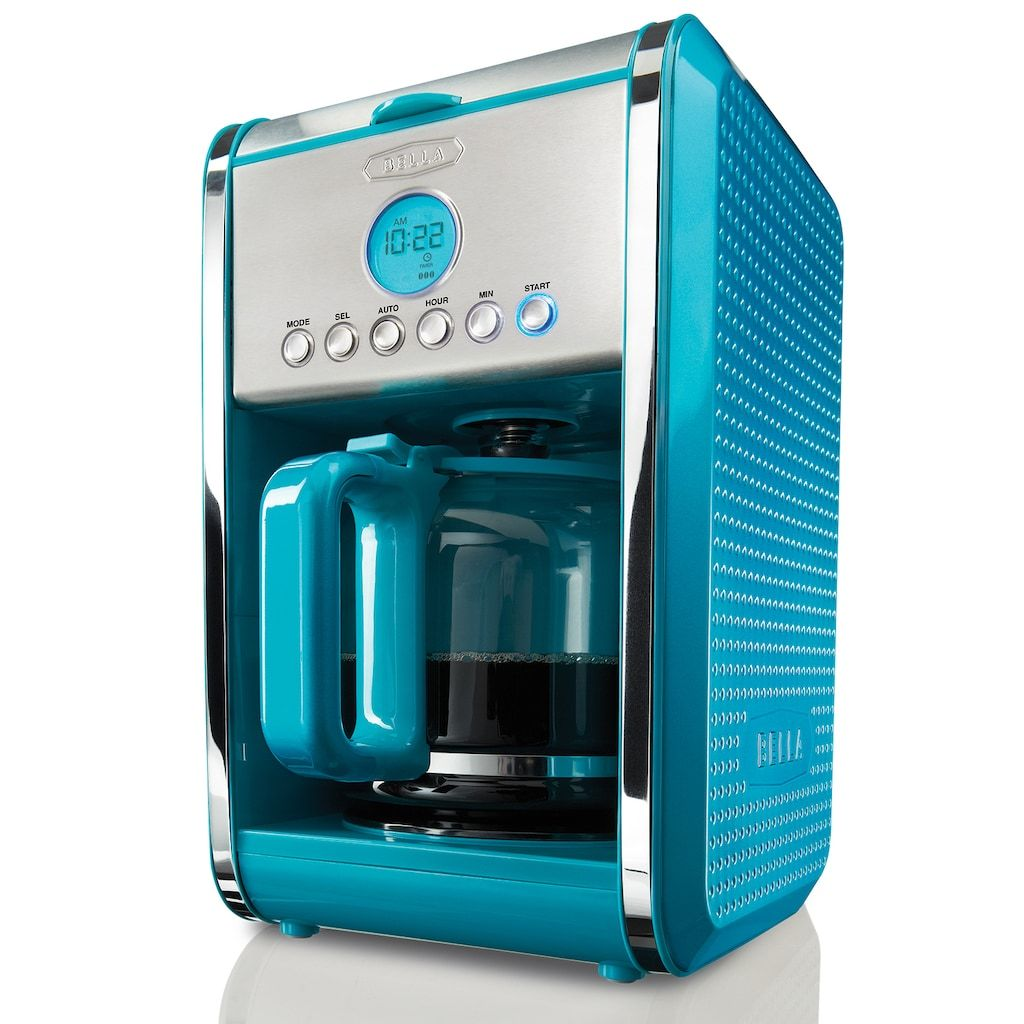 Bella Dots Collection 12Cup Programmable Coffee Maker