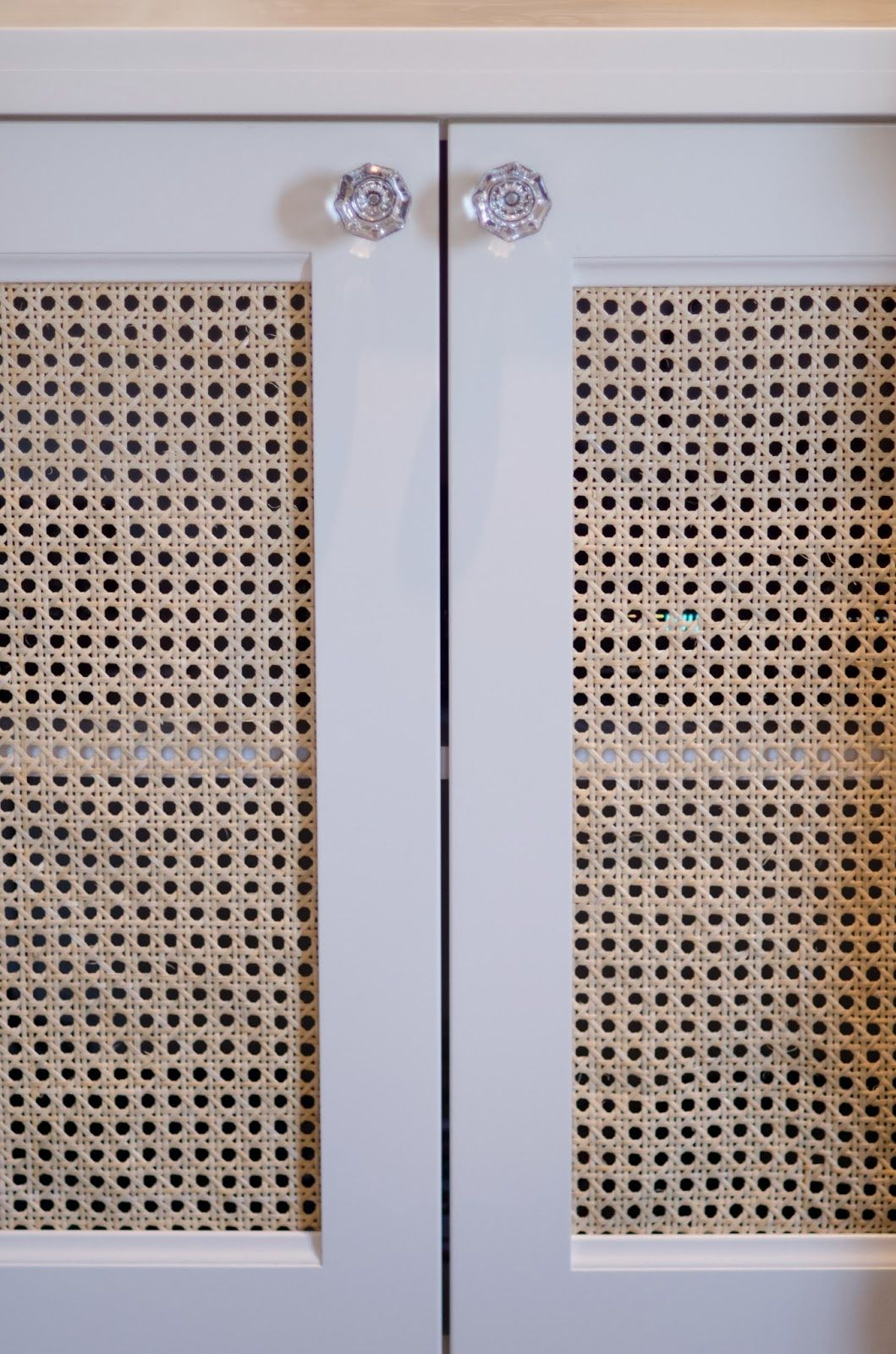 Natural Caning On Cabinets Doors Furniture And