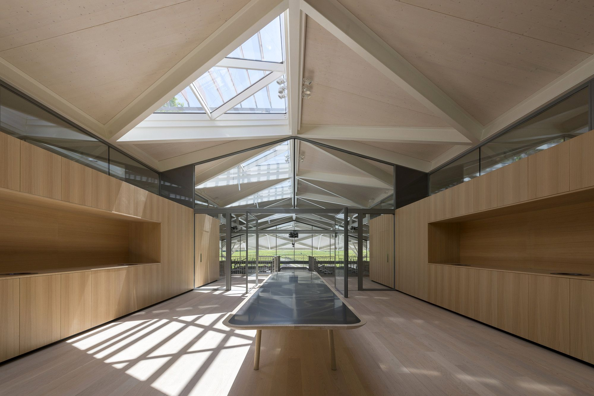 Chateau Margaux Winery. Location: Margaux, Bordeaux, France; firm: Foster + Partners; photos: Nigel Young / Foster+ Partners, year: 2015