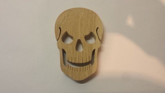 Oak Skull Halloween Decoration / Prop   wwwetsy/listing - skull halloween decorations